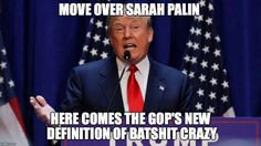 Funny Donald Trump Meme Move Over Sarah Palin Picture