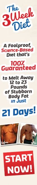 """Stop Believing the Lies: There Is NO SUCH THING As """"Fat-Burning Foods."""" Here's What You Can Do Instead to Lose 12 to 23 Pounds in Just 21 Days."""