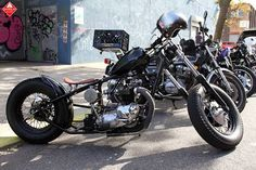 Triumph bobber | Bobber Inspiration - Bobbers and Custom Motorcycles | cafuneus August 2014