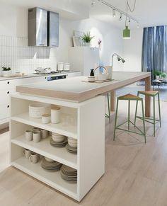 Resultado de imagen de mesa alta cocina plegable | Casa | Pinterest ...
