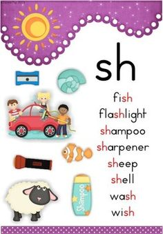"""sh"" Digraph Games-Activities-Worksheets 