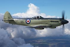 Supermarine 395 Seafire F17 Stephen Fox