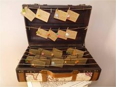 suitcase display - easy set up and take down