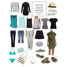 Summer capsule wardrobe (stay-at-home mom) by xenatheprincesswarrior