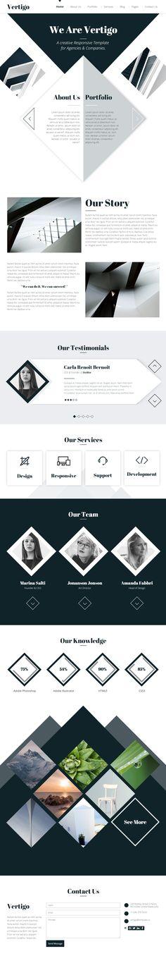 Vertigo is Premium full Responsive Retina HTML5 Multipurpose template, Bootstrap 3. #Angular JS. #Flat Design. #Minimal Design. Test free demo at: http://www.responsivemiracle.com/cms/vertigo-premium-responsive-multi-purpose-html5-theme/
