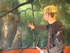 Painting light - Mural Joe - YouTube