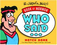 Book of Mormon Who said game