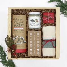 Holiday Home Christmas Gift Box from Loved and Found