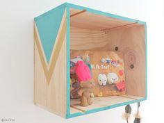 Pin'k'up: [DIY] L'étagère à tout faire