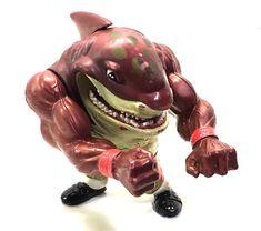 Vintage Street Sharks Big Slammu Action Figure 1994 Street Wise Designs Mattel | eBay