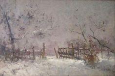 Henri Evenepoel, Neige Le point sur l'Impressionnisme belge   Mu-inthecity.com