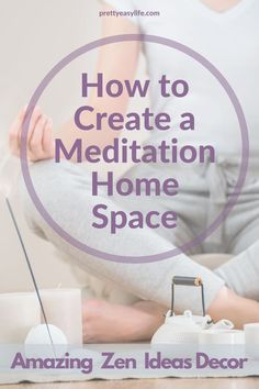 It doesn't take much to create a small meditation room - Easy ideas for Yoga or Meditation The Effective Pictures We Offer You About feng shui home number A quality picture can tell you ma Easy Meditation, Meditation Benefits, Meditation Space, Mindfulness Meditation, Restorative Yoga Poses, Prenatal Yoga, Calming Activities, Home Design, Salon Design