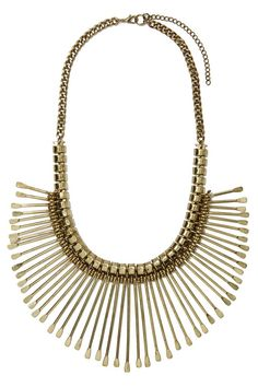 On Spike Collar Necklace