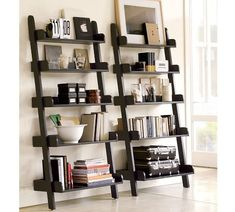Bookcase decorating - can't wait to get mine.
