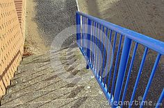 Steps With Railings And Shadows - Download From Over 48 Million High Quality Stock Photos, Images, Vectors. Sign up for FREE today. Image: 37737913