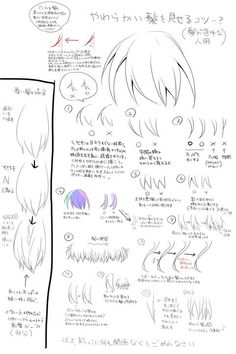 Bangs and how to draw them