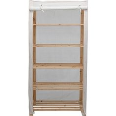 Photo Album Gallery Buy Simple Value Polycotton and Wood Shelf Unit Cream at Argos co