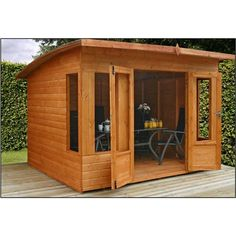 10ft x 8ft Helios Summerhouse (12mm Tongue and Groove Floor and Roof)