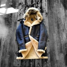 saltz: Nigel Cabourn winter coat sheerling men tumblr