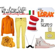 """""""The Lorax Outfit"""" by martinafromitaly on Polyvore"""