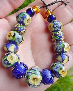 show & tell - WetCanvas: Online Living for Artists Jewelry Making Beads, Cute Jewelry, Jewelry Crafts, Jewelry Art, Beaded Jewelry, Jewelry Design, Beaded Bracelets, Jewellery, Clay Beads