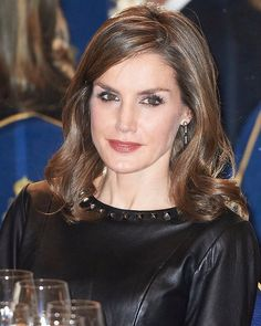 King Felipe VI and Queen Letizia of Spain attended the 33rd Francisco Cerecedo Journalist Award ceremony held at the Ritz Hotel on November 10, 2016 in Madrid, Spain.