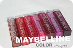 Maybelline Color Whisper Collection Lipstick