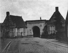 Groningen, Ebbingepoort : binnenzijde 1877