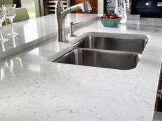 Waverton from Cambria | another countertop I like.  Marble look, but quartz