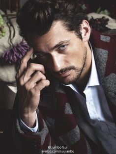 David Gandy The Timeless Man Cover story FHM Collections China 2014F/W