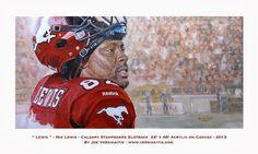 Joe Versikaitis - Turning Sports Photography into Artwork Illusions Illusions, Daddy, Paintings, Baseball Cards, Canvas, Artwork, Sports, Photography, Tela