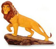 WDCC Disney Classics The Lion King Simba's Pride #WDCCDisneyClassics #Art. Retired 06/01.