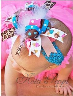 cute babies with bows - Bing Images
