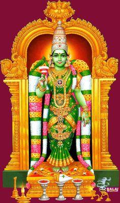 Meenakshi is an avatar of the Goddess Parvati, the divine consort of Sundareswarar (Shiva) and is considered to be the sister of God Vishnu. Madurai, Om Namah Shivaya, Lord Shiva, Lord Krishna, Lord Ganesha, Lord Murugan Wallpapers, Shiva Shakti, Shiva Hindu, Shiva Art