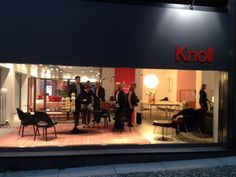 The Knoll Showroom in Milan, Salone 2014.