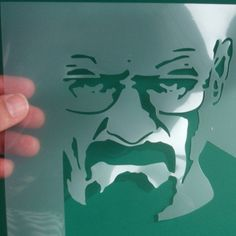 Breaking Bad Walter White Heisenberg Stencil by IdealStencils
