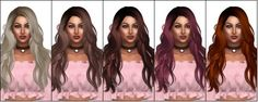 Newsea Titanium Hair Retexture at Kenzar Sims