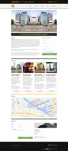 Another Simplepage Template design. perfect for you and your business. For more details, visit www.simplepage.co.uk