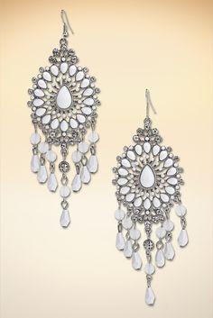 Sophisticated chandelier earrings #BostonProper #SS15 #Jewelry