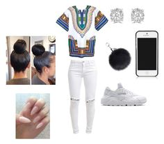 """teens only"" by lordgirlky ❤ liked on Polyvore featuring FiveUnits, NIKE, Tory Burch and Effy Jewelry"