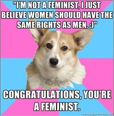 How Most Things You Know About Feminists Are Vicious Conservative Lies (click through for the article)
