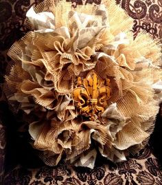 Southern charm wreath burlap by mydecor8 on Etsy, $50.00
