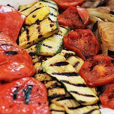 Grilled Vegetables with Balsamic Vinaigrette