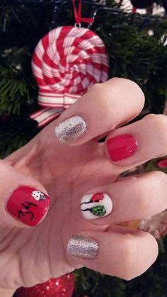 Birthday Nails 2016