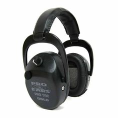 Pro Tac Plus Gold - Noise Reduction Rating BlackManufacture ID: Ears Gold Series Advantage Hearing Protection is the balance achieved betw Electronic Ear Muffs, Battery Indicator, Shooting Accessories, Home Defense, Noise Reduction, Earmuffs, Audiophile, Headset