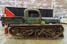 https://flic.kr/p/FkSnjd | Motorama Show Toronto 2016 | 1947 Ford Tankenstein Rat Rod Unique