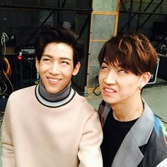 Throwback GOT7 @ After School Club Spring  Transformation | Bamjae moment. Bambam and Jaebum