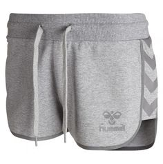 hummel Shorts Classic Bee Womens Tech - Prenda Color Gris Talla M Sport Shorts, Gym Shorts Womens, Swimsuit For Body Type, Adidas Basketball Shoes, Trends, Women Swimsuits, Mantel, Sportswear, Bee
