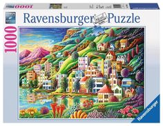NEW Jigsaw Puzzle 1000 Piece Ravensburger Andy Russell DREAM CITY #Ravensburger