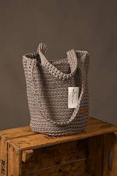 Crochet bag Large summer bag Knit handbag Shoulder bag